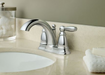 "Moen 6610 Brantford 4"" Centerset Bathroom Faucet - NYDIRECT"