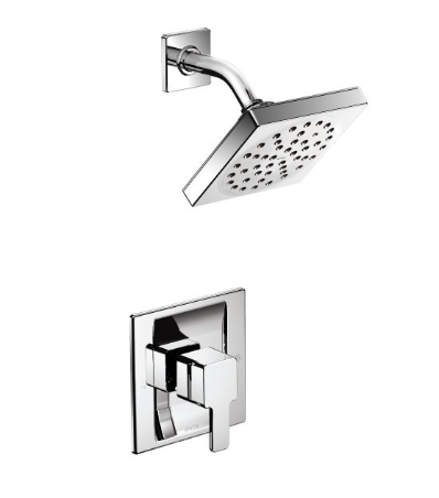 Moen TS2712 90 Degree Positemp Pressure Balancing Shower Trim, Valve Required - NYDIRECT