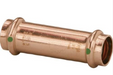 "Viega ProPress Zero Lead Copper 1/2"" Extended Coupling without Stop Press X Press - NYDIRECT"