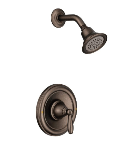 Moen T2152 Brantford Positemp Pressure Balance Shower Trim, Valve Required - NYDIRECT