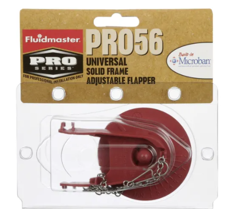 Fluidmaster PRO56 Universal Adjustable Flapper w/Microban - NYDIRECT