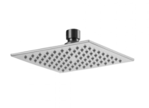 Jaclo S207 Square Rain Machine Showerhead - NYDIRECT
