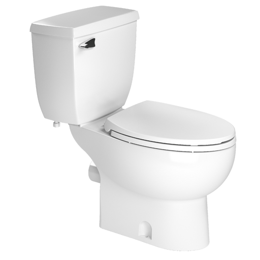Saniflo Elongated Rear Discharge Toilet - NYDIRECT