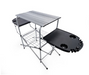 Camco 57295 Deluxe Grilling Table w/Plastic Side Tables - NYDIRECT