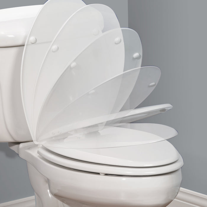 BEMIS 12OOE4 Affinity™ Elongated Plastic Toilet Seat - NYDIRECT