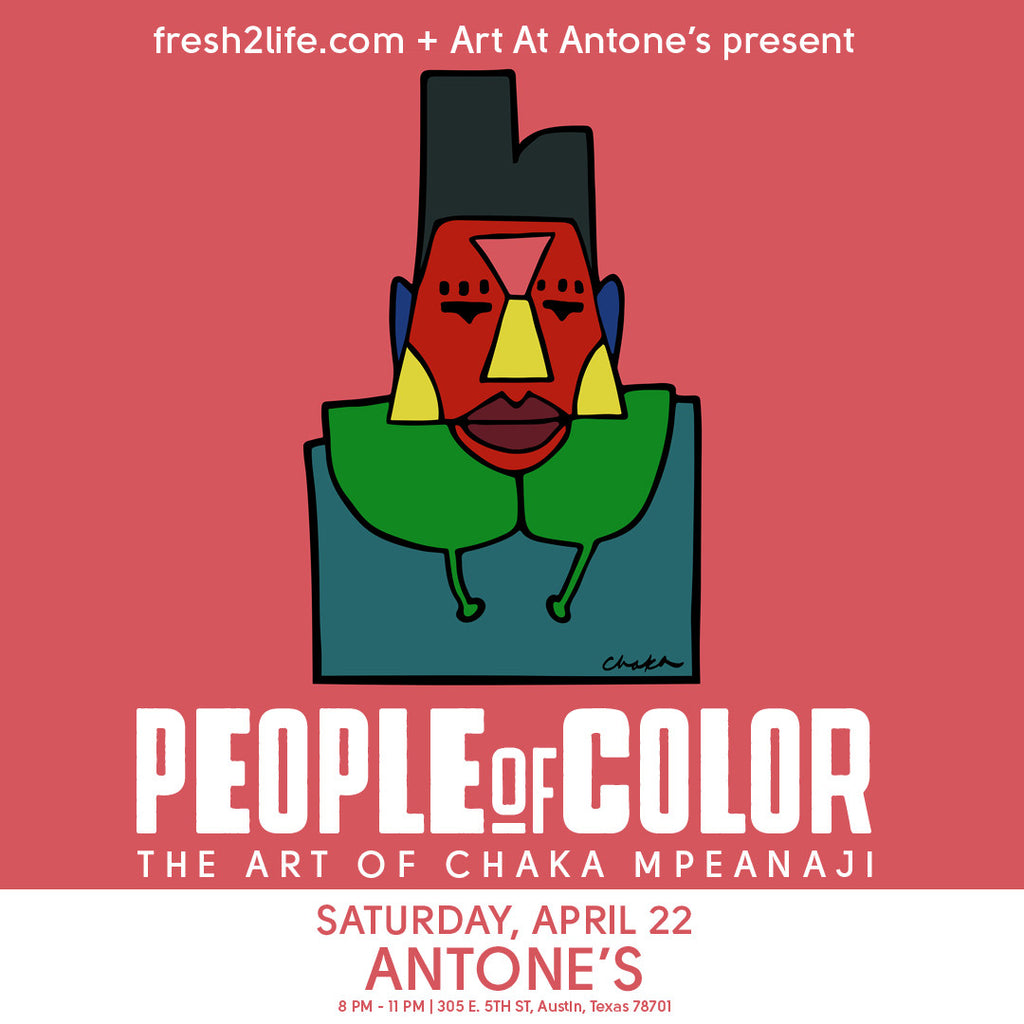 People Of Color Exhibit - 4/22 at Antone's