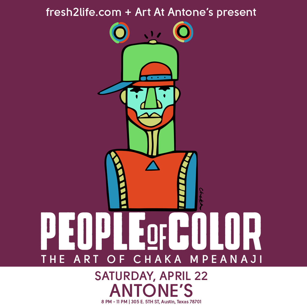 'People Of Color' Exhibit less than one week away!