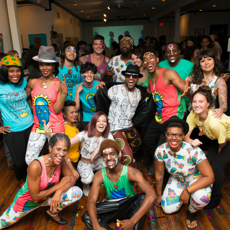 SOULCITI and AUSTIN 360 coverage of 'PEOPLE OF COLOR' exhibit!