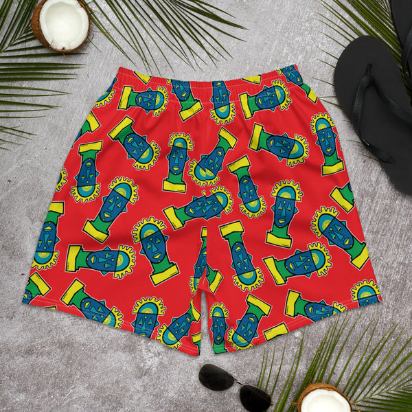 'Benin MultiFresh' All-Over Men's Athletic Shorts