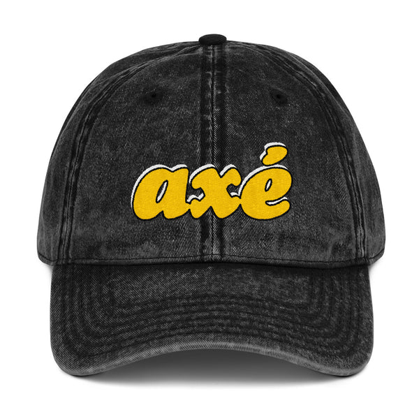 Axé Vintage Cotton Twill Cap