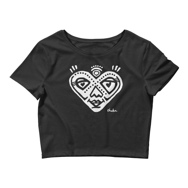'Heartful' Women's Crop Tee