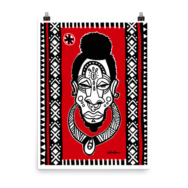 Warrior Print (Black Everythang Matters Collection)