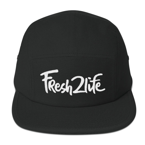 Fresh2Life (5 Panel Camper) - White Lettering