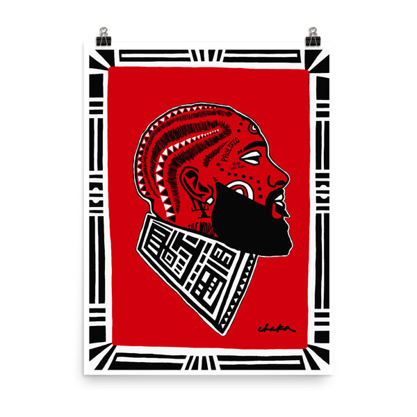 Nipsey Hussle Print (Black Everythang Matters Collection)