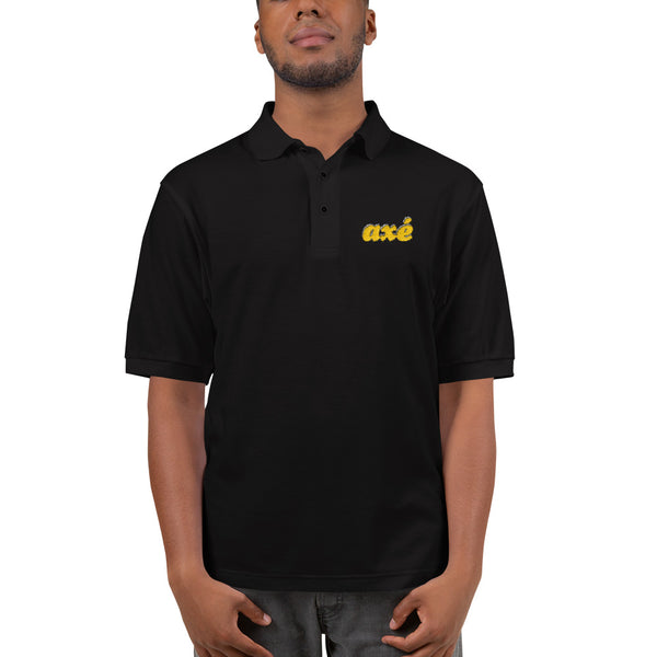 Axé Embroidered Polo Shirt