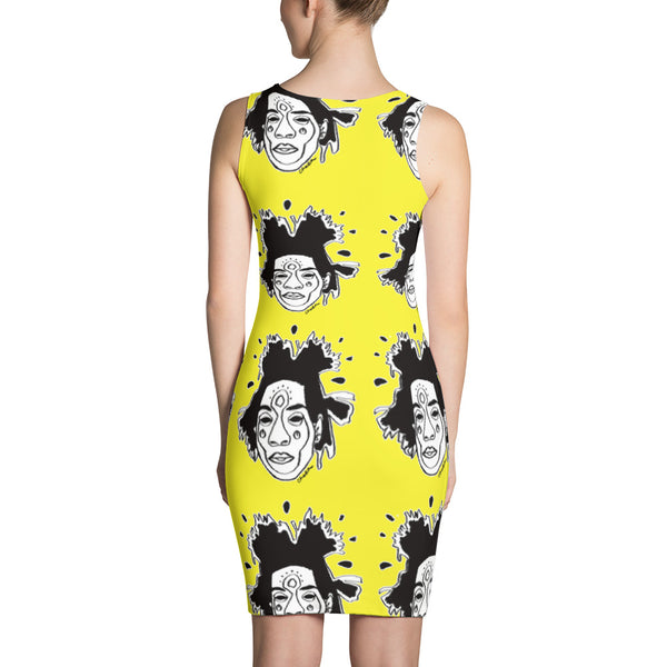 Basquiat Dress (Yellow)