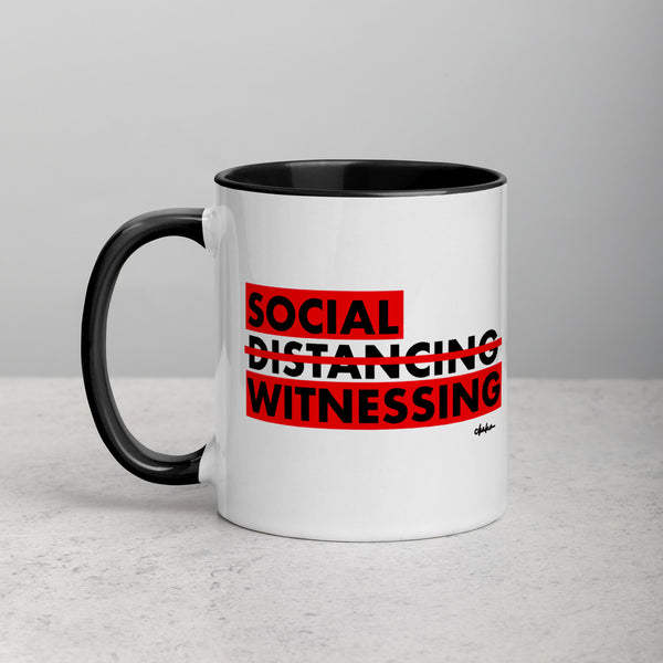 'Social Witnessing' Mug with Color Inside