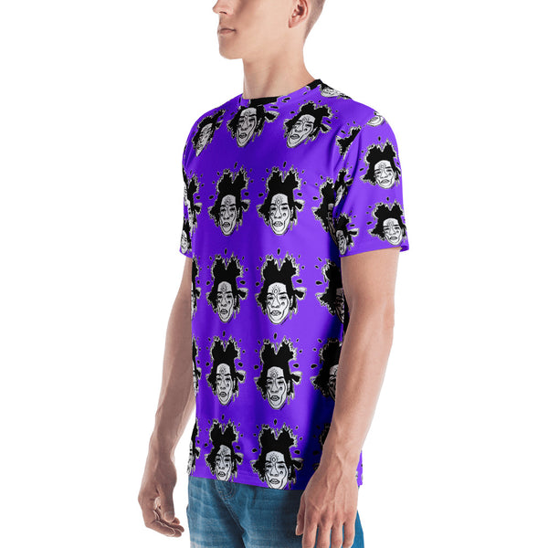 All-Over Basquiat Tee (Purple)