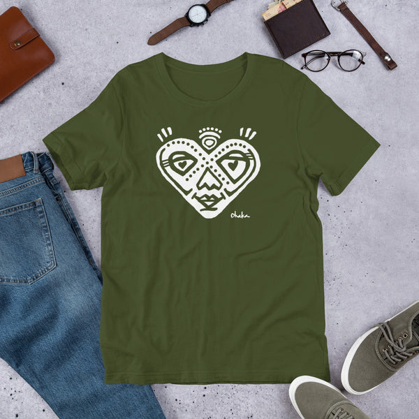 'Heartful' Short-Sleeve Unisex T-Shirt