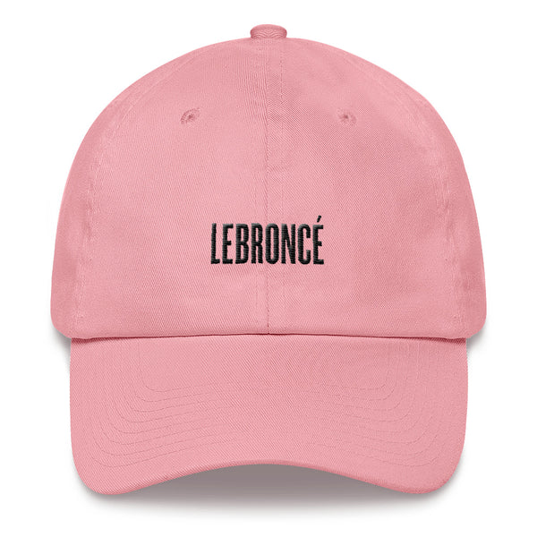 LEBRONCÉ Pink Dad hat