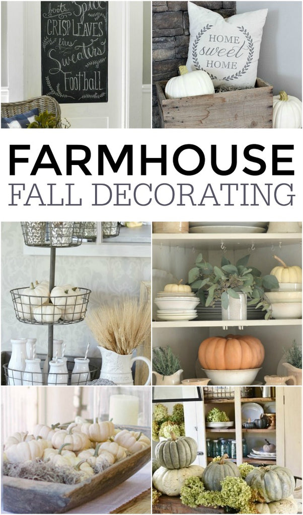 Farmhouse Fall Decorating!