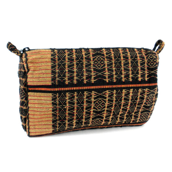 Global Groove Toiletry Bag in Nagland Design (Fair Trade) - Fine Design Trading Company