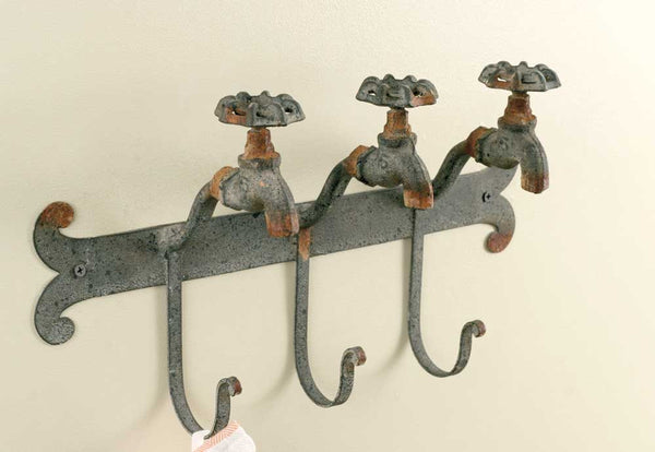 Water Faucet Wall Hook - Fine Design Trading Company