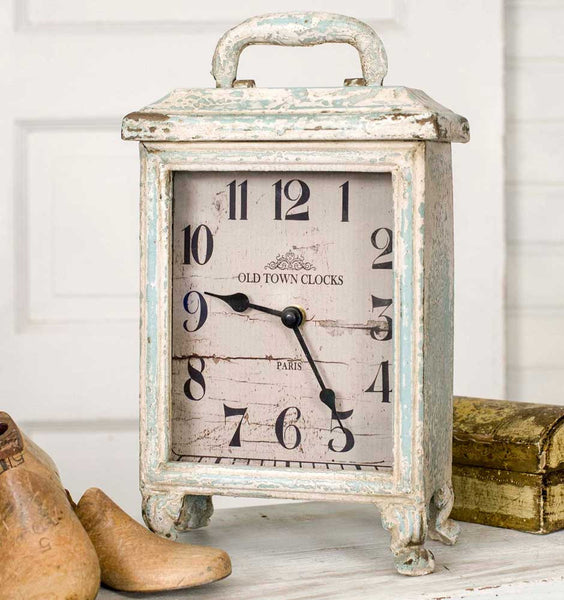 Antique Style Carriage Clock - Fine Design Trading Company