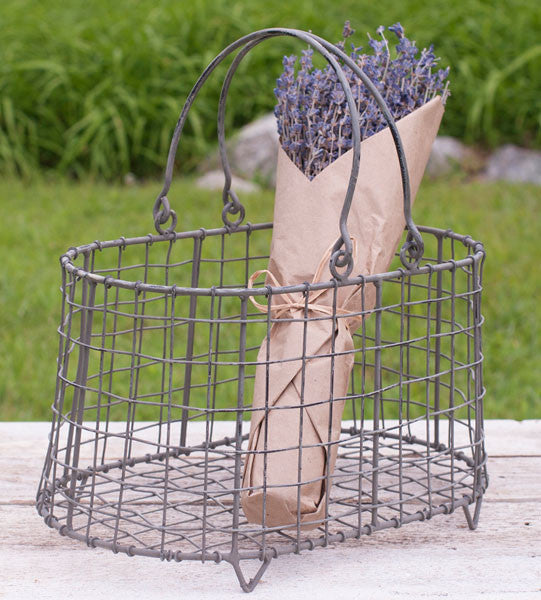Flower Basket with Handles - Fine Design Trading Company