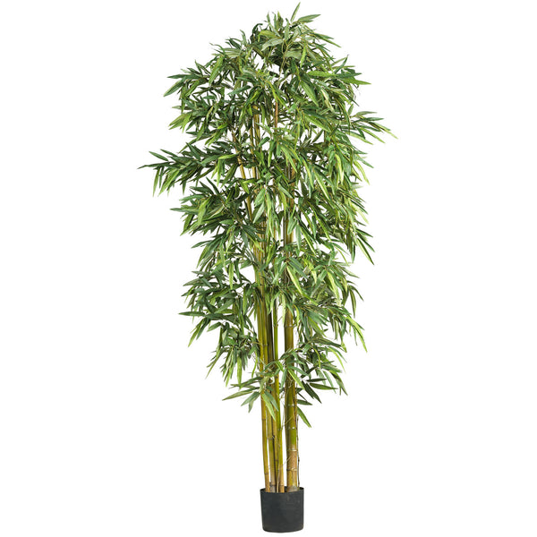 Dramatic Nearly Natural 7' Biggy Style Bamboo Silk Tree - Fine Design Trading Company