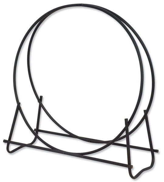 "Black 40"" Diameter Log Hoop - Fine Design Trading Company"