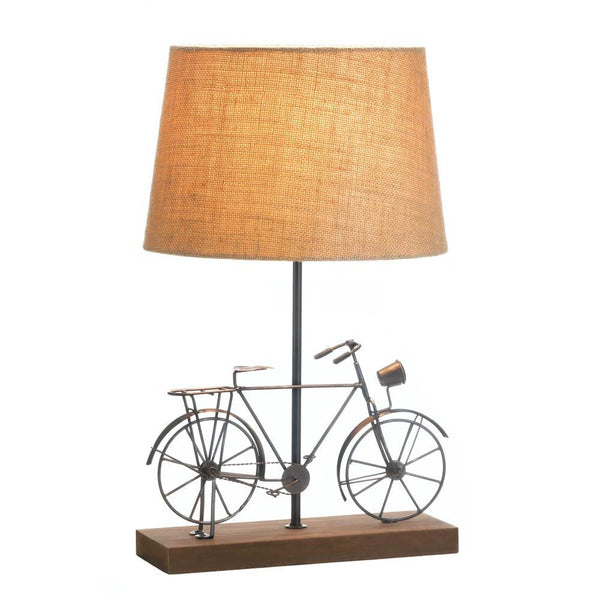 Old Fashioned Bicycle Table Lamp - Fine Design Trading Company