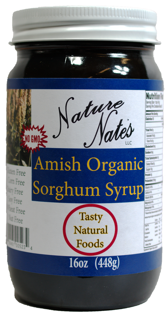 Amish Natural Sorghum Syrup