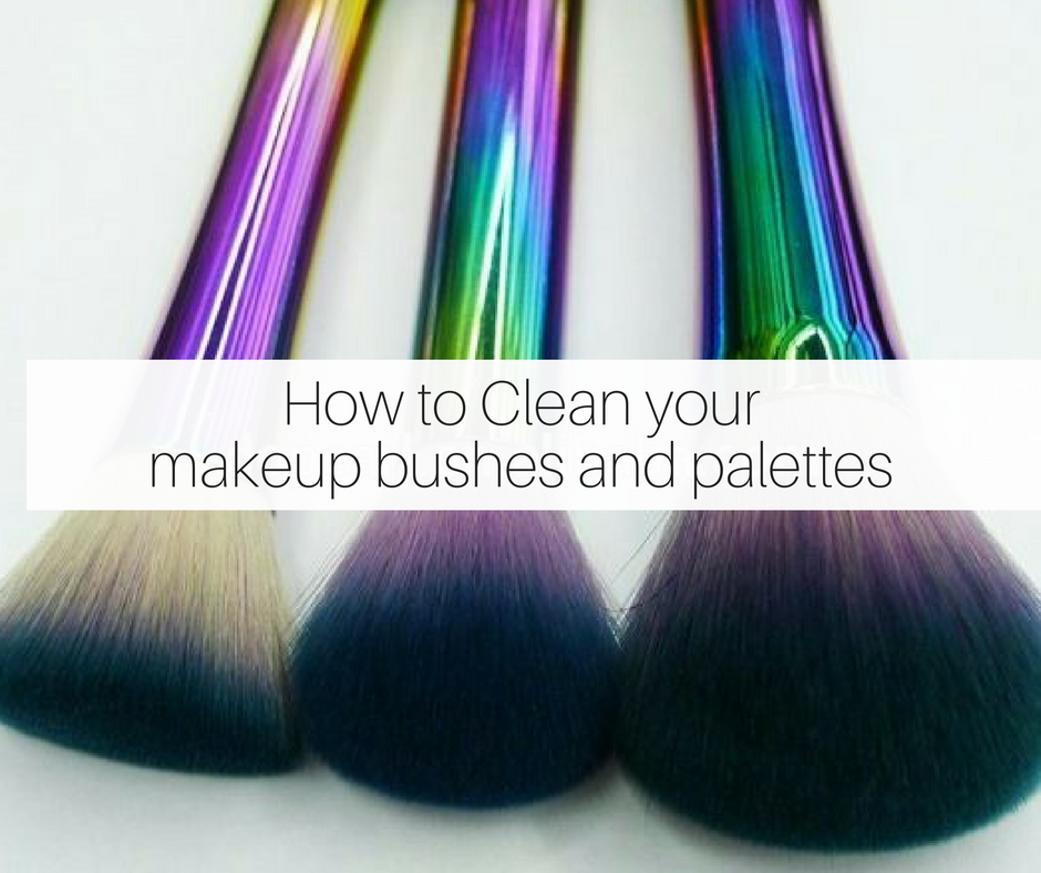 5 Ways To Clean Your Makeup Brushes, Sponges And Makeup Palettes