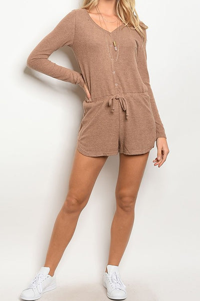 LS Sweater Romper