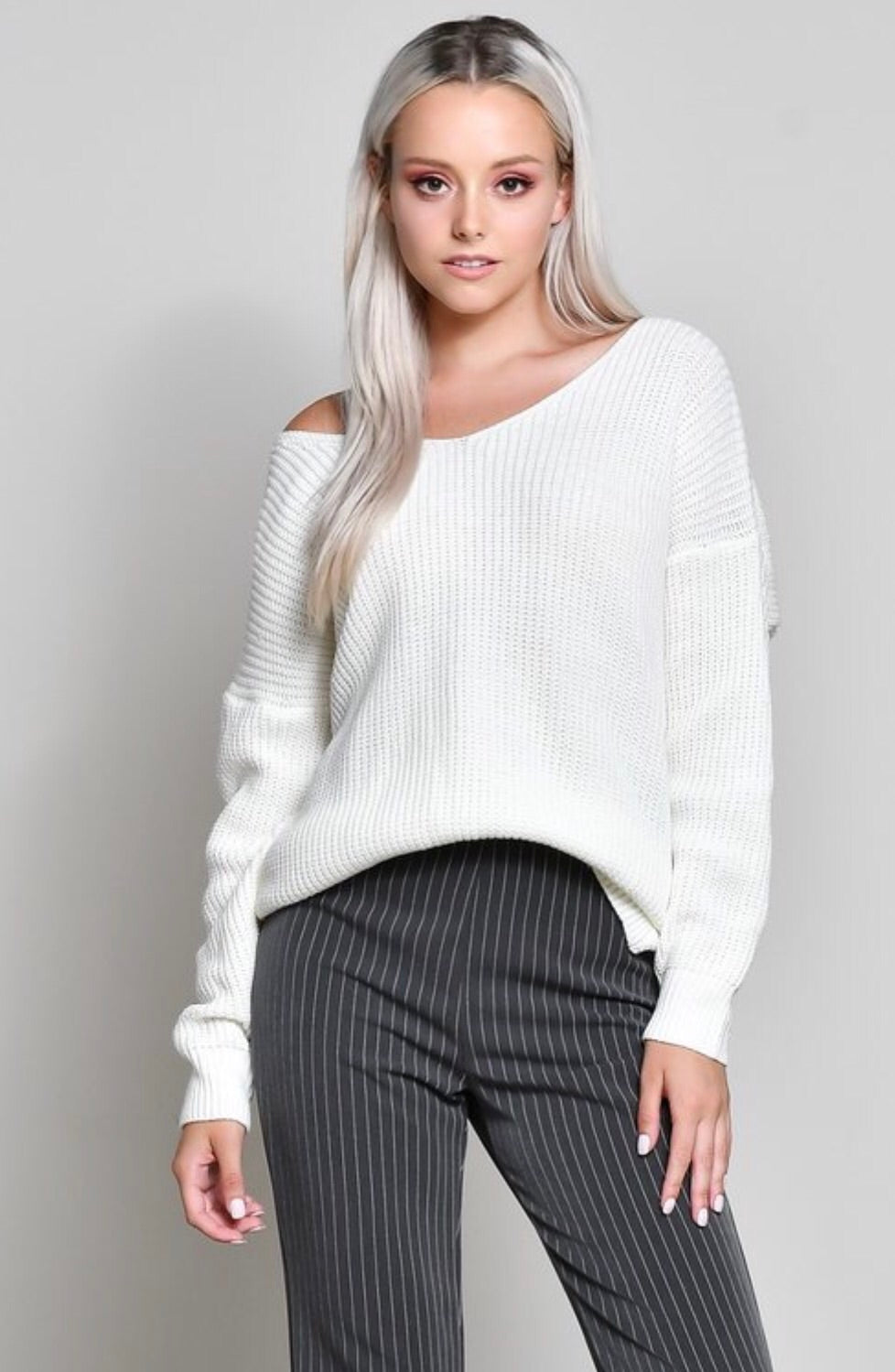 Twisted Detail Sweater