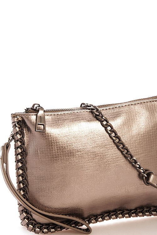 Chic Chained Clutch