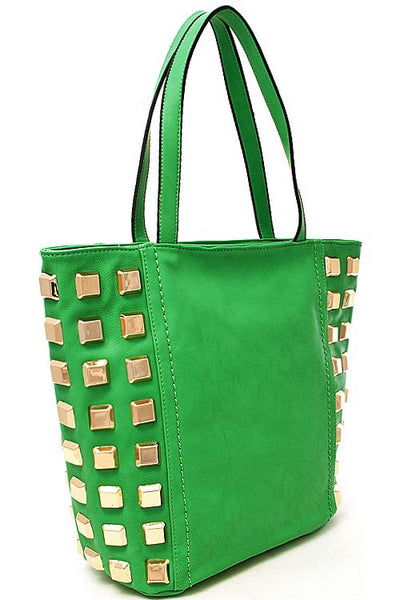 Square Studded Bag