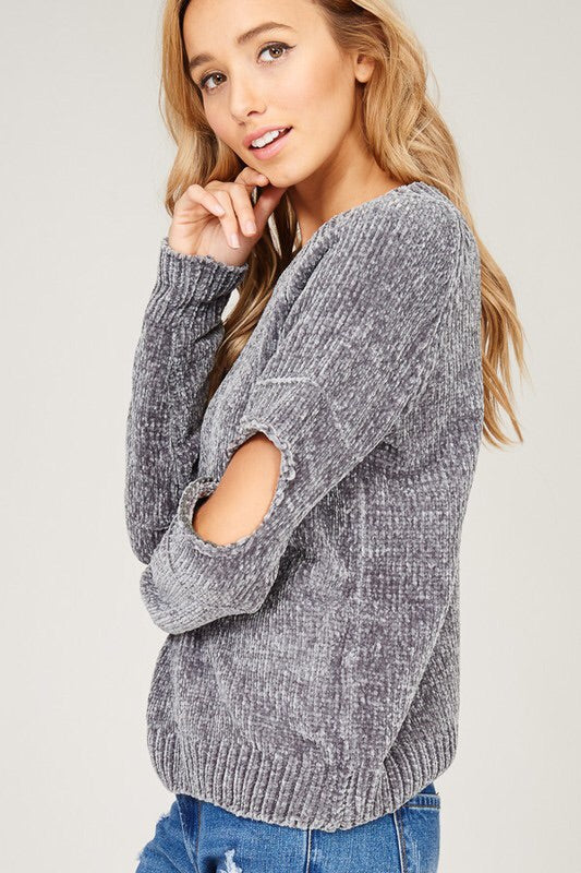 Velvet Cloud Knit Sweater