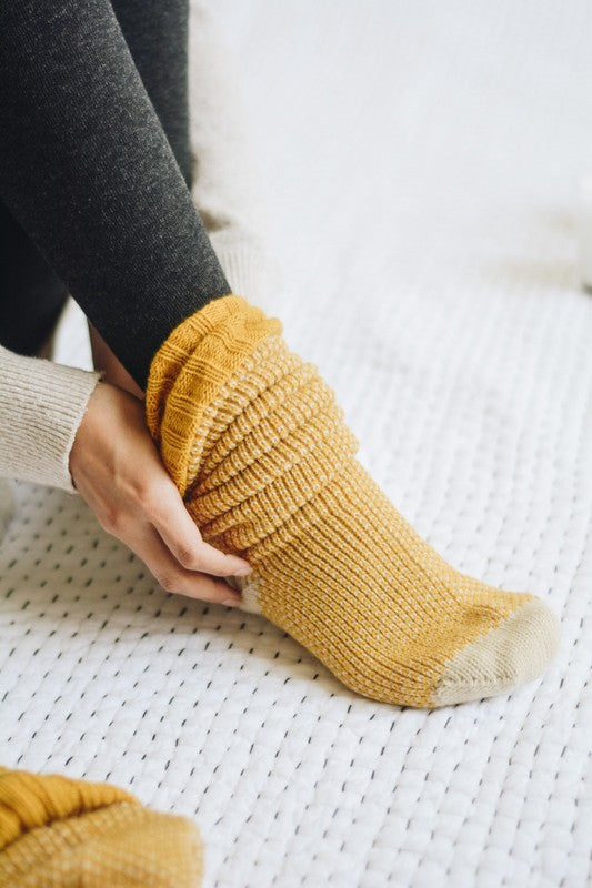 Knitted Lounge Socks