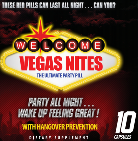 Vegas Nites The ultimate Party Pill