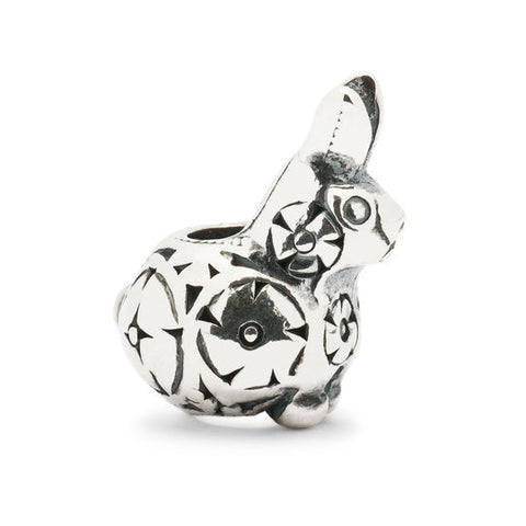 Trollbeads Decorative Rabbit Baby Bead