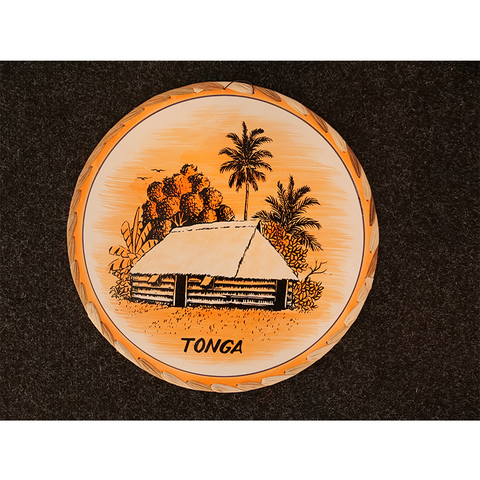 Brand New Big Wall Hanging - Fale Tonga Design