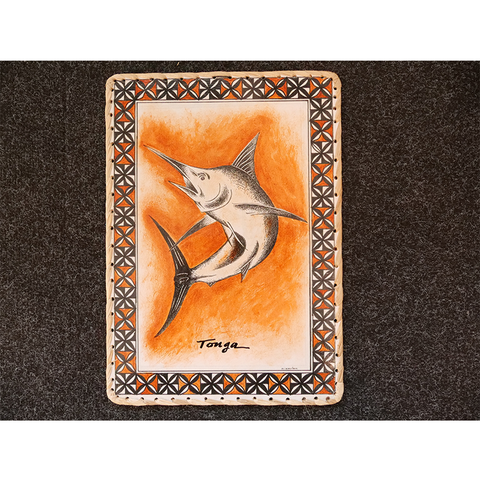 Brand New Rectangle Wall hanging - Swordfish Design
