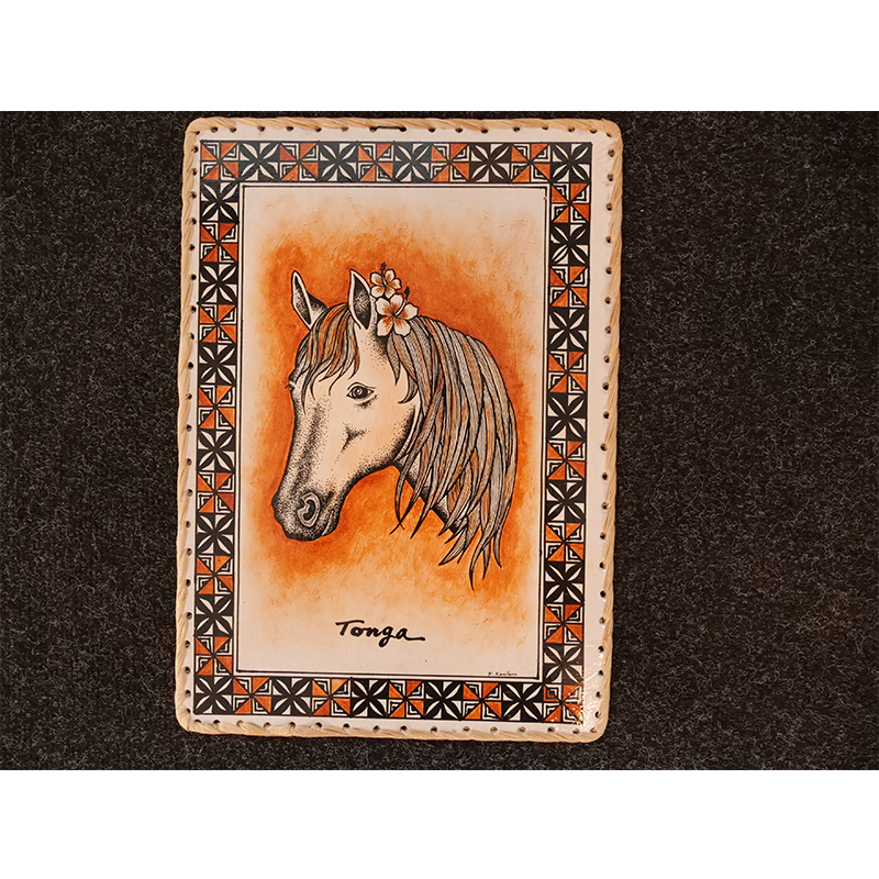 Brand New Rectangle Wall hanging - Horse Design