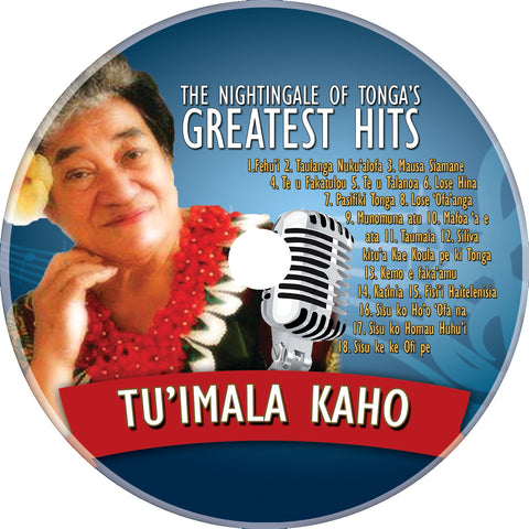 Nightingale of Tonga Tu'imala Kaho Greatest Hits CD