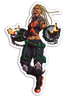 Bakugou Sticker - My Hero Academia Remix