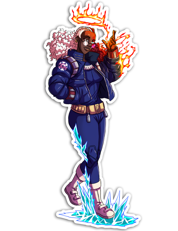 Shoto Sticker - My Hero Academia Remix
