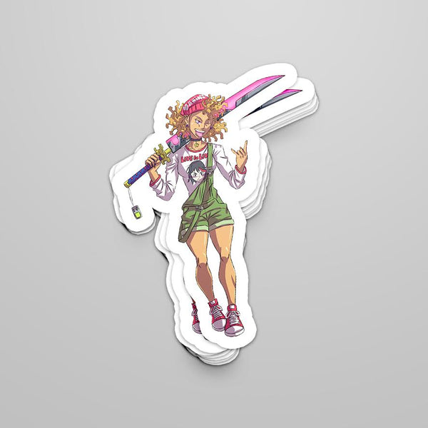 Brooke Sticker