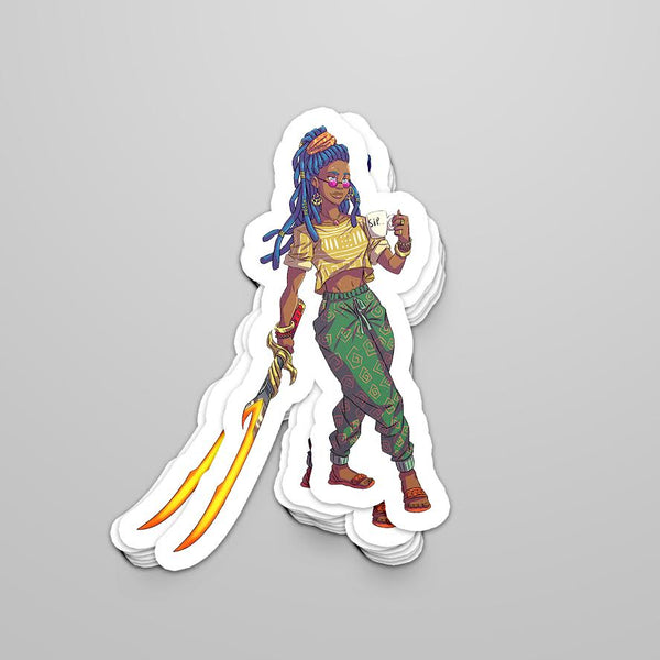 Mya Sticker